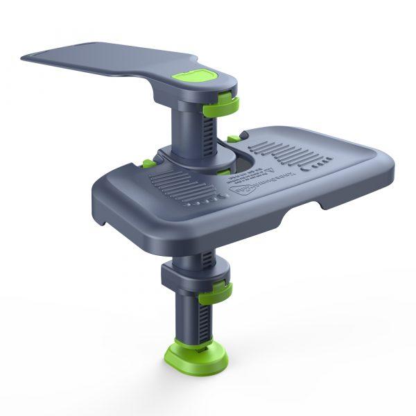 フットレスト ニーガードキッズ3 チャイルド/ジュニアシート用 足置き フットステップ 足の負担軽減 膝保護 角度/高さ調節可能